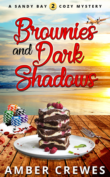 Brownies and Dark Shadows by Amber Crewes