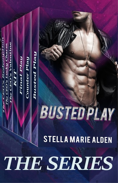 Busted Play, A Sports Novella by Stella Marie Alden