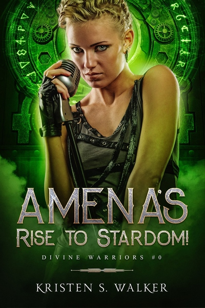 Amena's Rise to Stardom! by Kristen S Walker