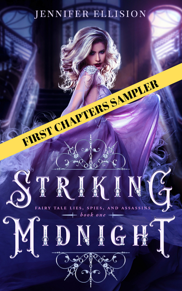Striking Midnight Sample by Jennifer Ellision