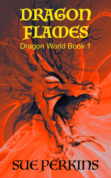 Dragon Flames by Sue Perkins