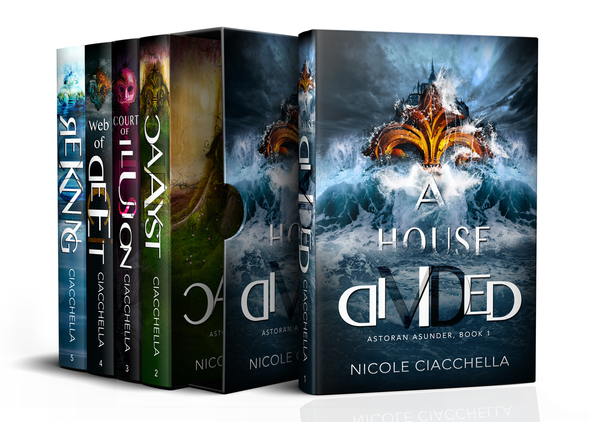 Astoran Asunder, The Complete Series by Nicole Ciacchella