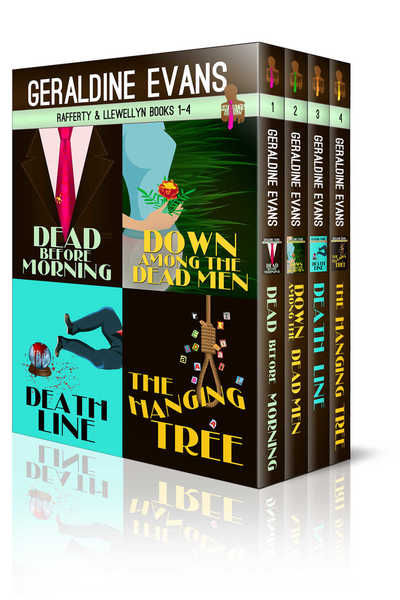 RAFFERTY & LLEWELLYN BOXED SET: BOOKS 1 - 4 by Geraldine Evans