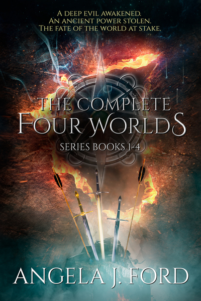 The Complete Four Worlds Series: An Epic Fantasy Saga: Books 1-4 by Angela J. Ford