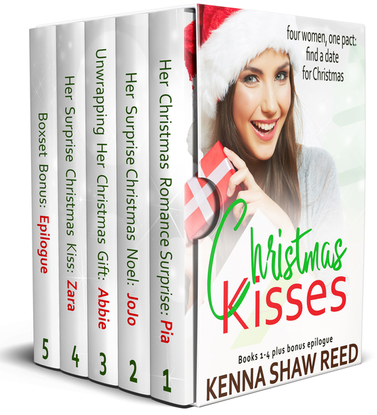Christmas Kisses Complete Series by Kenna Shaw Reed