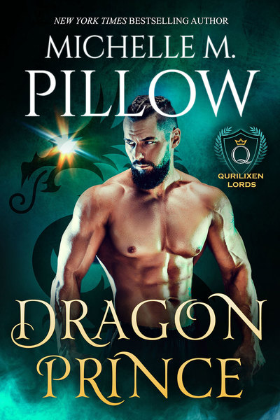 Dragon Prince (Qurilixen Lords) by Michelle M. Pillow