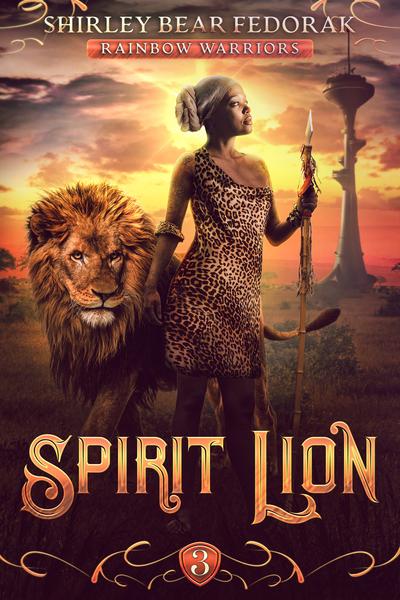 Spirit Lion by Shirley Bear Fedorak