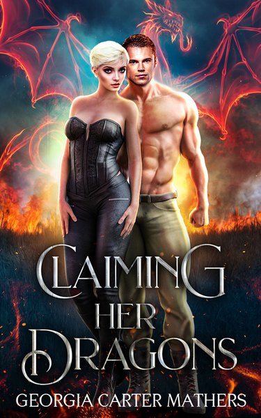 Claiming Her Dragons Book 2 by Georgia Carter Mathers