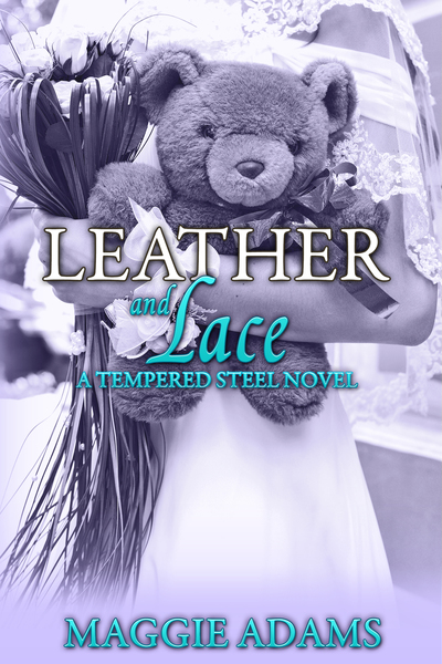 Leather and Lace by maggie adams