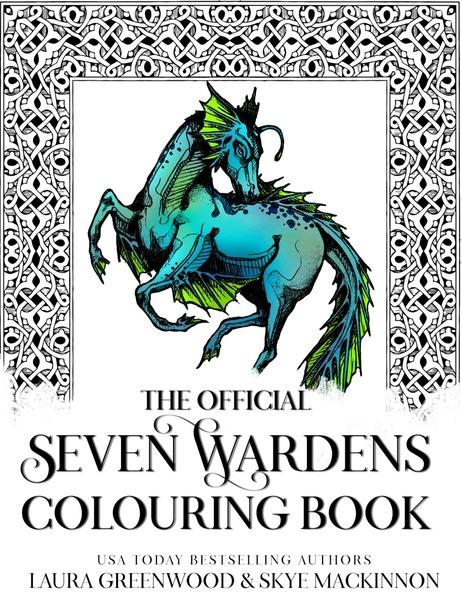 Seven Wardens Colouring Book