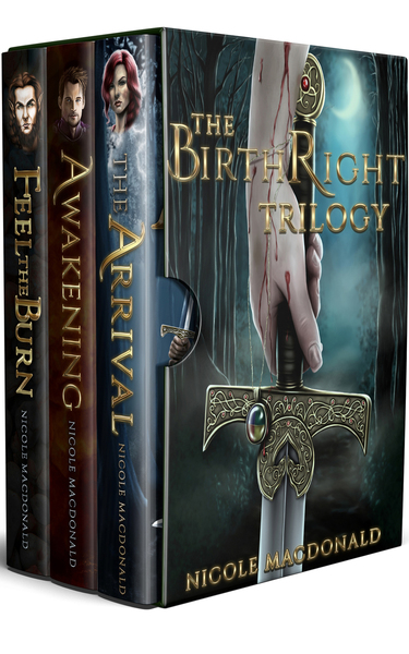 The BirthRight Trilogy by Nicole MacDonald