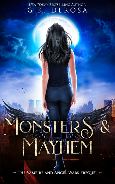 Monsters & Mayhem by GK DeRosa
