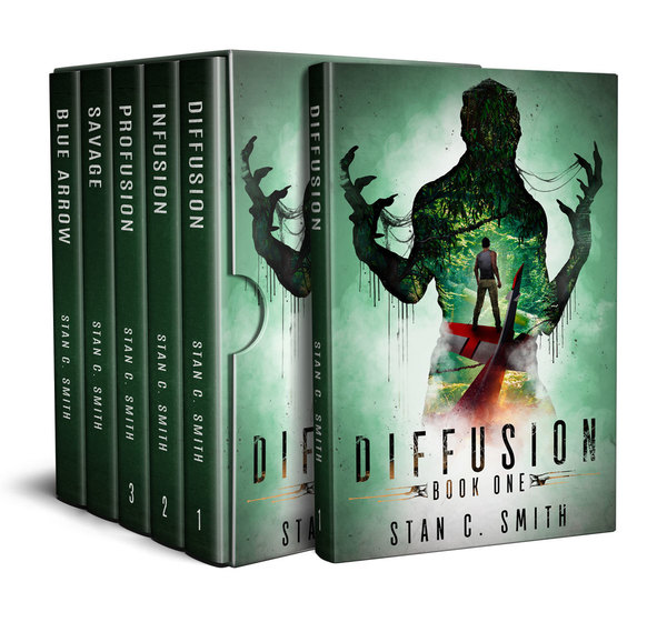 Diffusion Box Set: An Alien First Contact Adventure Series by Stan C. Smith