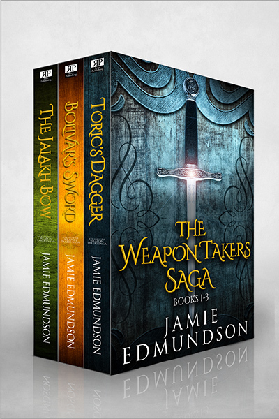 The Weapon Takers Saga Books 1-3 by Jamie Edmundson