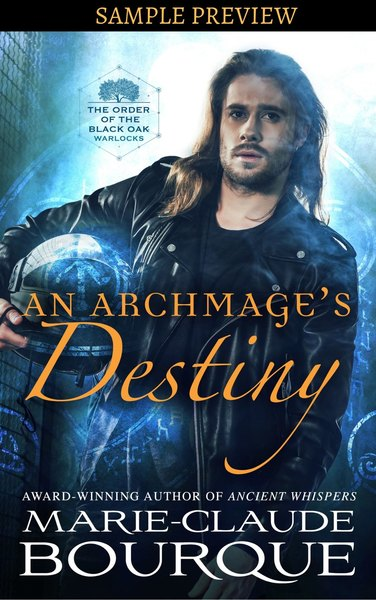 AN ARCHMAGE'S DESTINY - SAMPLE PREVIEW by Marie-Claude Bourque