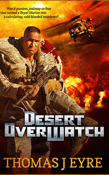 Desert OverWatch by Thomas James Eyre - BooksGoSocial Mystery