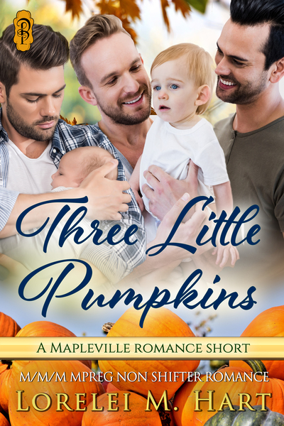 Three Little Pumpkins by Lorelei M Hart