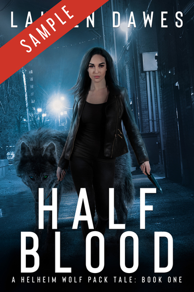 Half Blood by Lauren Dawes