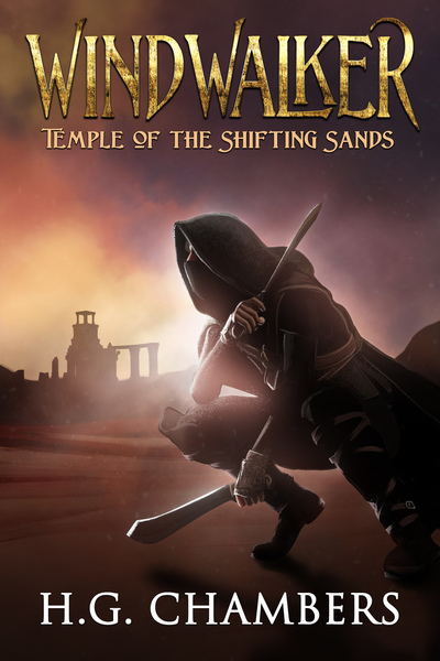 Windwalker: Temple of the Shifting Sands by H.G. Chambers