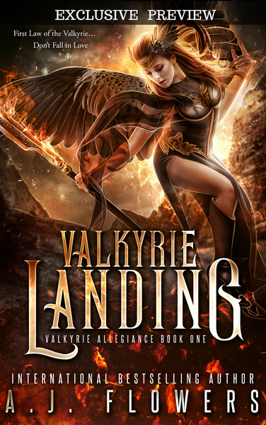 Valkyrie Landing (Preview) by A.J. Flowers