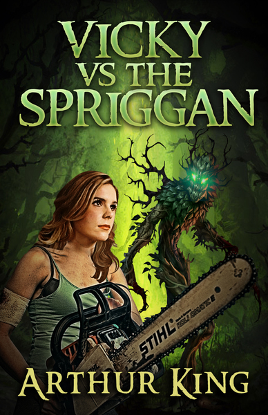 Vicky vs Spriggan by Arthur King