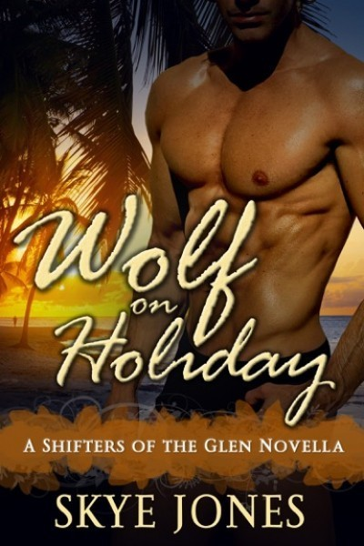 Wolf on Holiday by Skye Jones