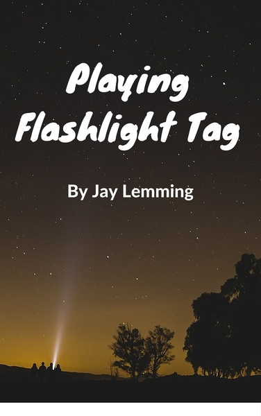 Playing Flashlight Tag by Jay Lemming