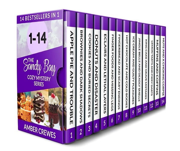 Cozy Mysteries 14 Book Box Set: The Sandy Bay Series by Amber Crewes