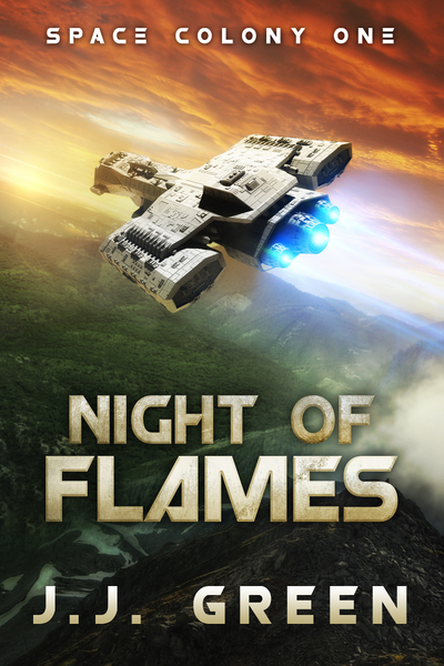 Night of Flames by JJ Green