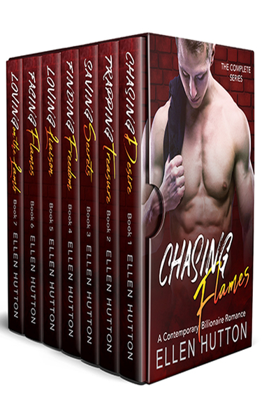 Chasing Flames Series by Ellen Hutton