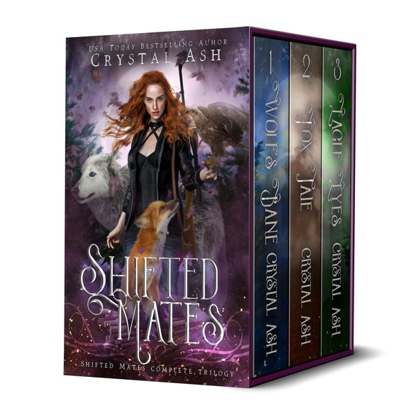 Shifted Mates: The Complete Trilogy by Crystal Ash