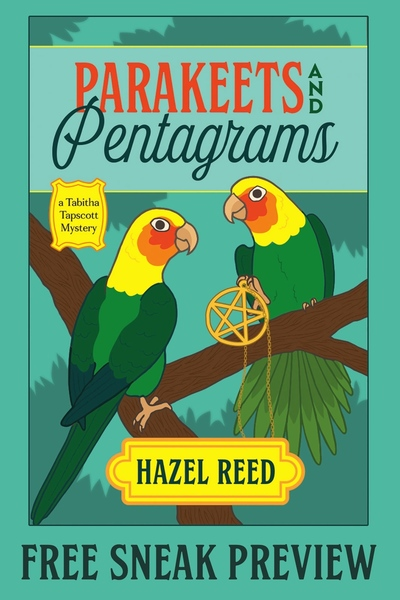 Parakeets and Pentagrams Sneak Peek by Hazel Reed