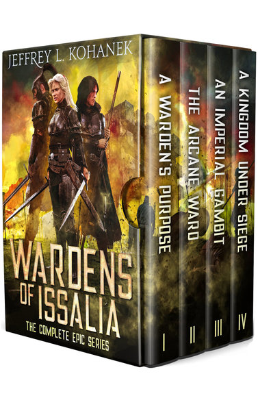 Wardens of Issalia Boxed Set: The Complete Epic Adventure by Jeffrey L. Kohanek