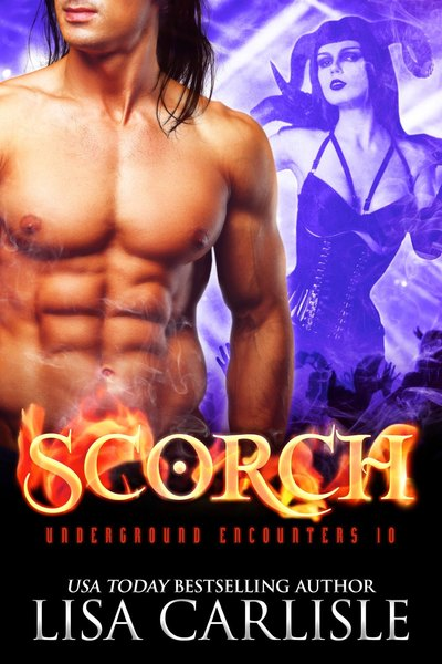 SCORCH (an incubus vs succubus demon romance) - preview by Lisa Carlisle