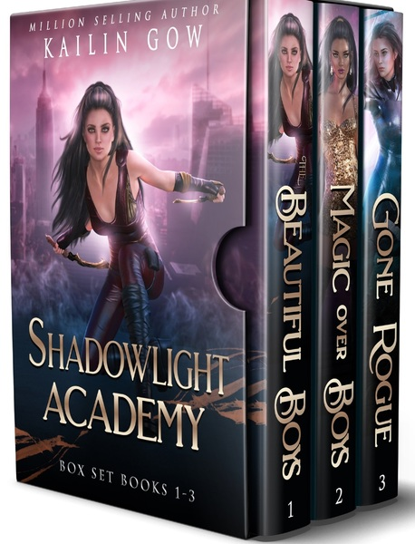 Shadowlight Academy Box Set (Books 1-3) by Kailin Gow