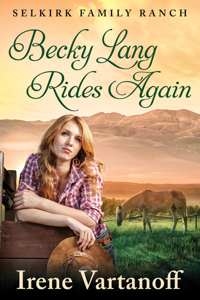 Becky Lang Rides Again by Irene Vartanoff