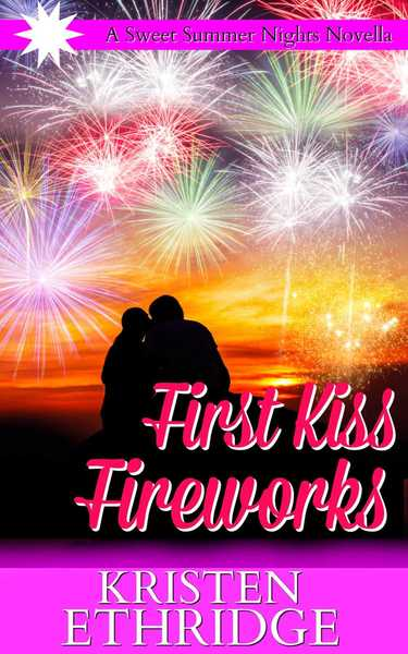 First Kiss Fireworks by Kristen Ethridge