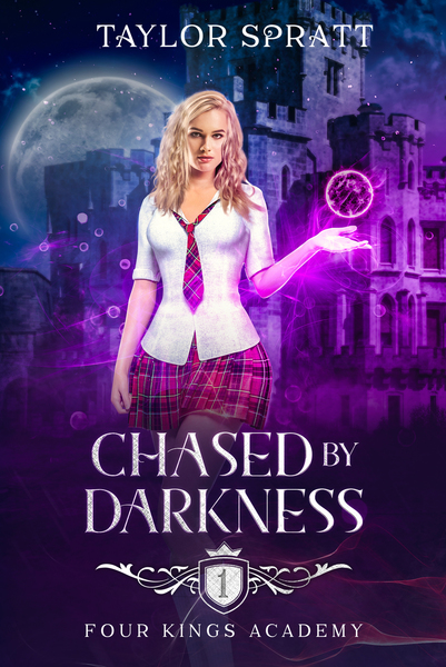 Chased by Darkness First 2 Chapters by Taylor Spratt