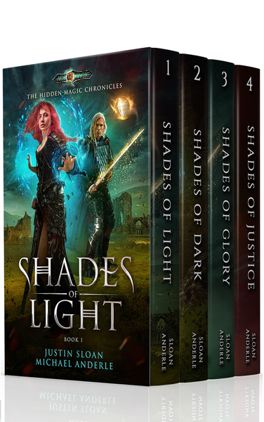 The Hidden Magic Chronicles Boxed Set by Michael Anderle
