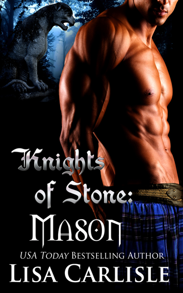 Knights of Stone: Mason: (a Scottish gargoyle shifter and witch romance) by Lisa Carlisle