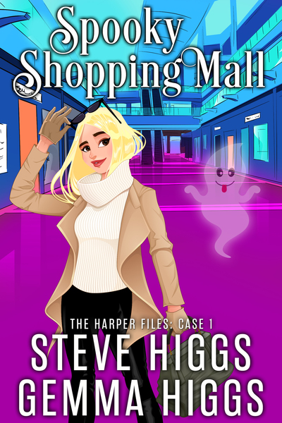 Spooky Shopping Mall by steve higgs