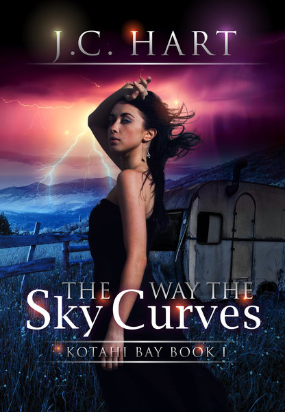 The Way the Sky Curves by J.C. Hart
