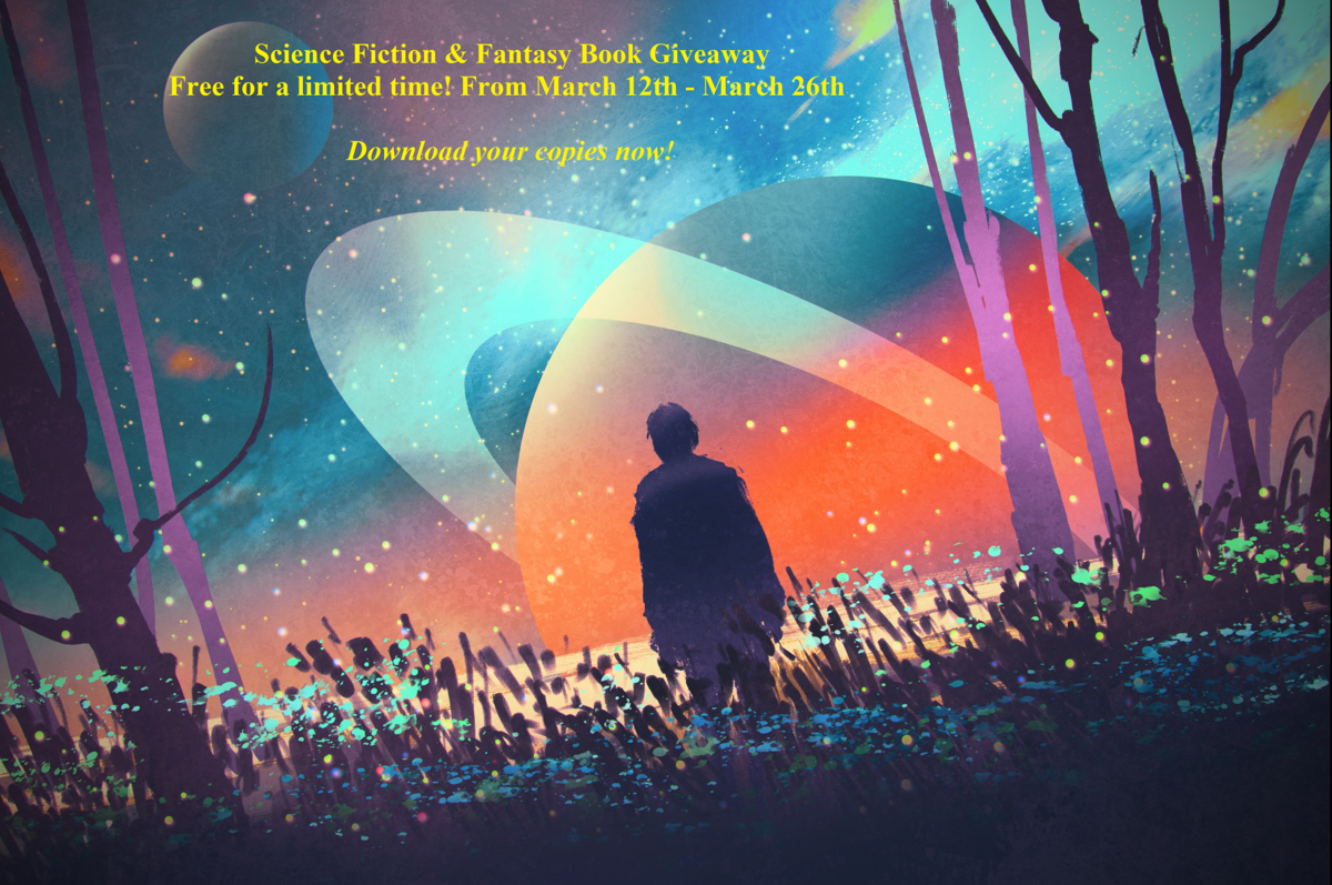 #freebooks – Speculative fiction giveaway of sixty (60) free books and short stories on Bookfunnel. Fantasy, sci fi, and horror. Giveaway ends on 26 March 2018