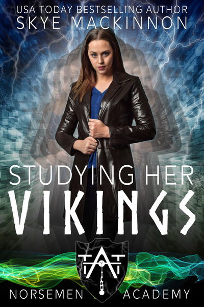 Studying her Vikings by Skye MacKinnon