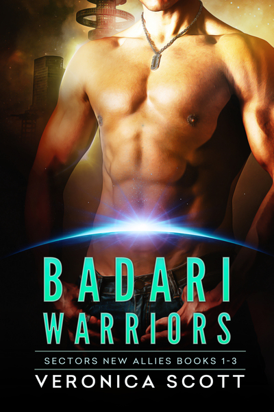 Badari Warriors Sector New Allies Books 1-3 by Veronica Scott