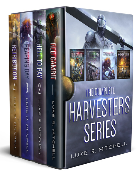 The Complete Harvesters Series Box Set by Luke R. Mitchell
