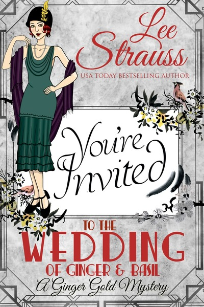 The Wedding of Ginger & Basil by Lee Strauss