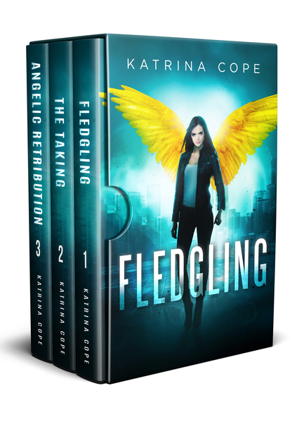 Afterlife Series Box Set: the Angel Trilogy Collection (Fledgling/The Taking/Angelic Retribution) by Katrina Cope
