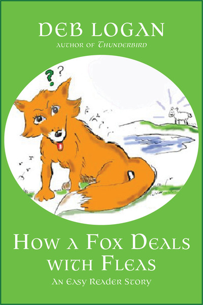 How a Fox Deals with Fleas by Deb Logan