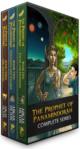 The Prophet of Panamindorah - Complete Series by Abigail Hilton